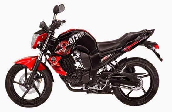Yamaha Byson Valorous Red (Merah)