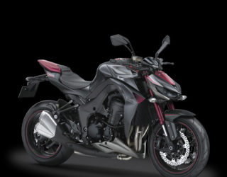 Kawasaki Z1000 Merah Standar