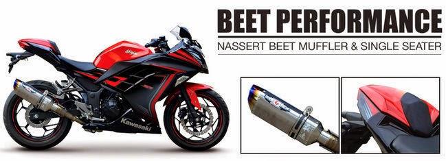 knalpot racing ninja 250 fi dari kawasaki