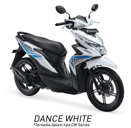 Honda Beat ESP Dance White Putih