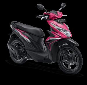 Honda Beat ESP Fusion Magenta Black Hitam Pink