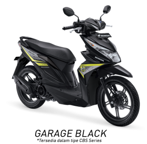 Honda Beat ESP Garage Black Hitam