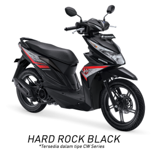 Honda Beat ESP Hard Rock Black Hitam