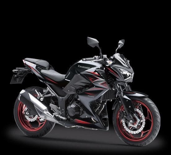 Kawasaki Z250 2016-2017 Hitam ABS