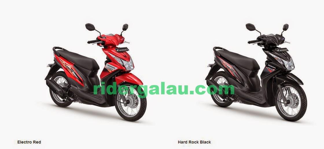 Pilihan warna dan striping The All New Honda BeAT- FI SW