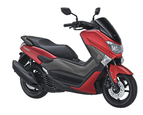 Yamaha Nmax Merah