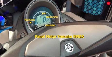 dashboard yamaha nmax