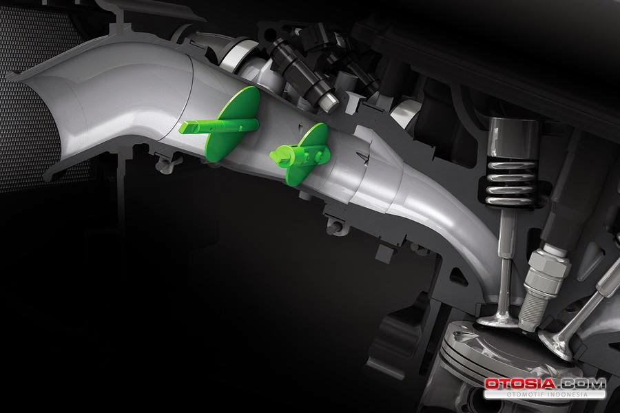 katup sistem bahan bakar injeksi kawasaki z250