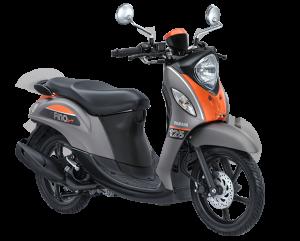 2017 Yamaha Fino Sporty Grey