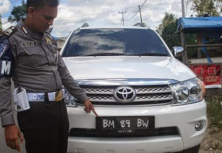 Daftar Nama Kode Plat Nomor kendaraan Seluruh daerah Indonesia