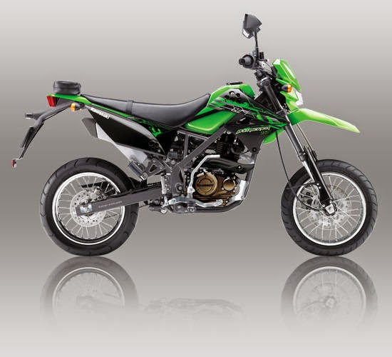 Kawasaki D Tracker 150 Hijau