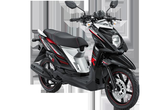 Yamaha X Ride Se Hitam terpopuler