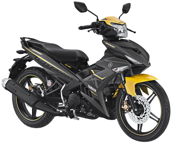 Striping dan warna Yamaha MX King 150 Matte Grey 2017