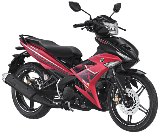 Striping dan warna Yamaha MX King 150 Matte Red 2017