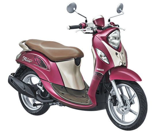 Yamaha Fino Premium Red Berry 2017 2018