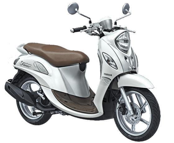 Yamaha Fino Premium White Late 2017 2018