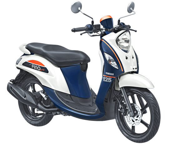 Yamaha Fino Sporty Jump White 2017 2018