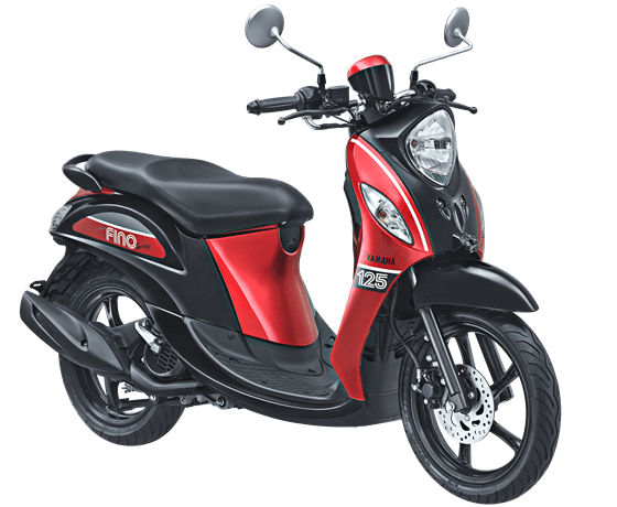 Yamaha Fino Sporty Sprint Red 2017 2018
