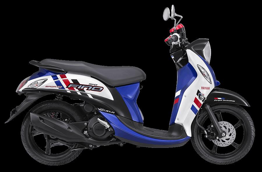 Yamaha Mio FIno FI sporty blue (biru)