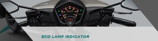 eco lamp indicator pada yamaha all new sou GT