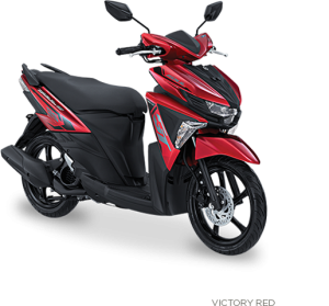 striping warna yamaha all new soul gt victory-red