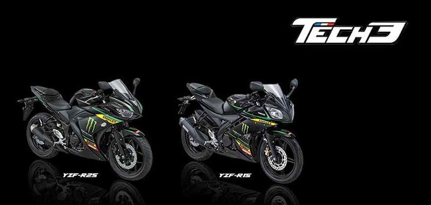 Harga yamaha R25 dan R15 Special MotoGP Edition 2015 Tech3