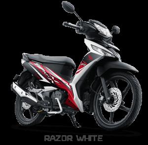 Honda SUpra X 125 Sporty Aggressive Putih