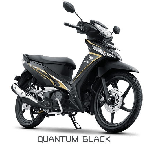 Honda SUpra X 125 Sporty Luxurious Hitam