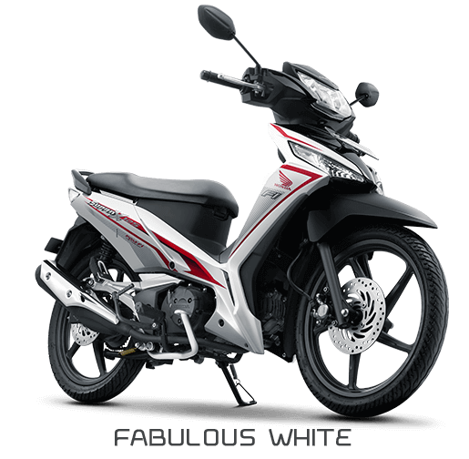 Honda SUpra X 125 Sporty Luxurious Putih