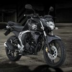 All new yamaha byson FI Black Fighter