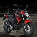 All new yamaha byson FI Red Combat
