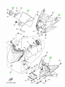 Harga Headlamp, Shroud, Dan Cover Engine New Vixion Advance, Pasang di NVL