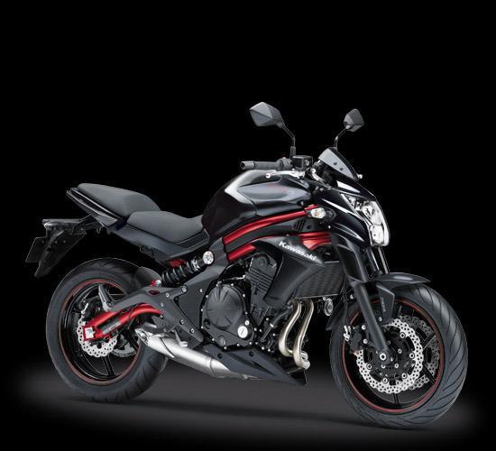 Kawasaki ER6n ABS Hitam 2016-2017