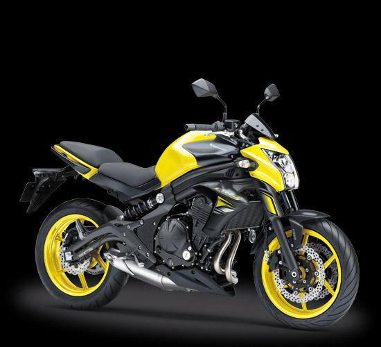 Kawasaki ER6n ABS Kuning 2016-2017