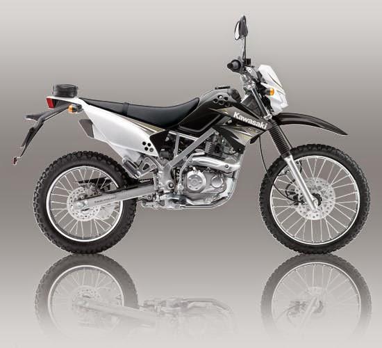 Kawasaki KLX 150S Hitam