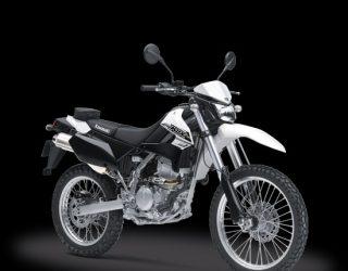 Kawasaki KLX 250 Putih