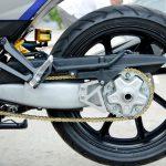 Modifikasi yamaha mx king 150 Mono Arm Honda NSR, Sok Depan USD, Monoshock Ohlins