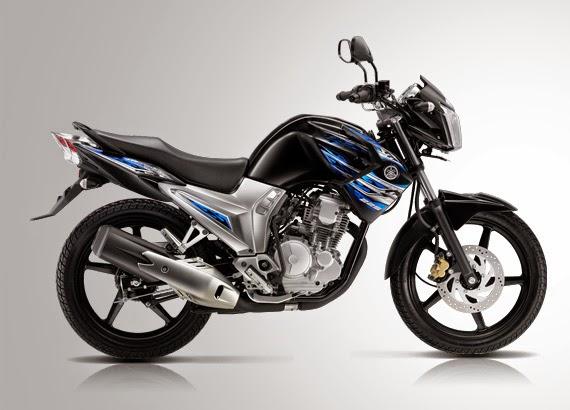 Pilihan warna Yamaha new Scorpio Z Hitam Polet Biru