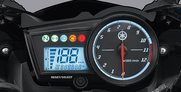 SUPER BIKE SPEEDOMETER R15 V2