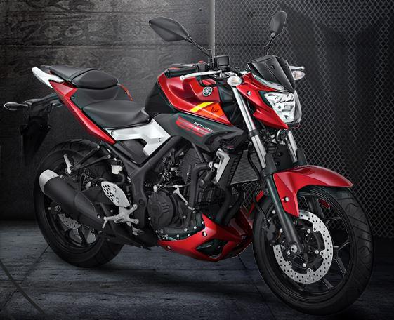 Yamaha MT 25 Merah