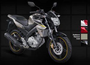 Yamaha New Vixion Lightning 2012 gold