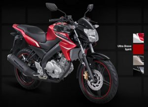 Yamaha New Vixion Lightning 2012 merah