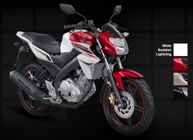 Yamaha New Vixion Lightning 2012 putih