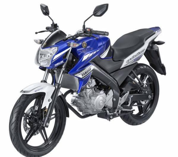Yamaha New Vixion Lightning Biru Motogp Edition 2013