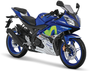 Yamaha r15 2016-2017 Biru Movistar