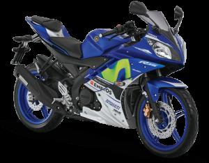 Yamaha r15 2016-2017 Biru Movistar