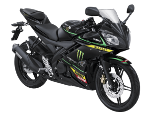 Yamaha r15 2016-2017 Hitam tech 3