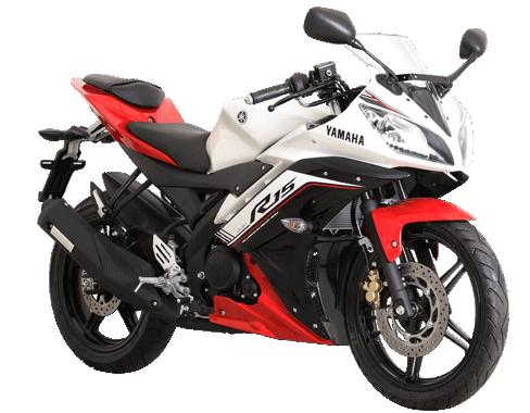 Yamaha r15 2016-2017 Merah