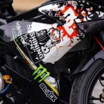 modifikasi yamaha mx king 150 pakai rem brembo underbone racing striping keren 5