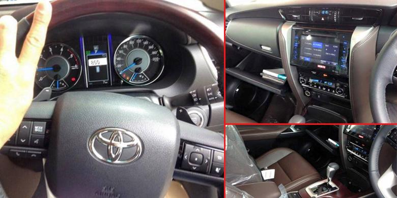Interior Toyota All New Fortuner